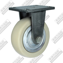 6 inch flat bottom fixed MPD wheel